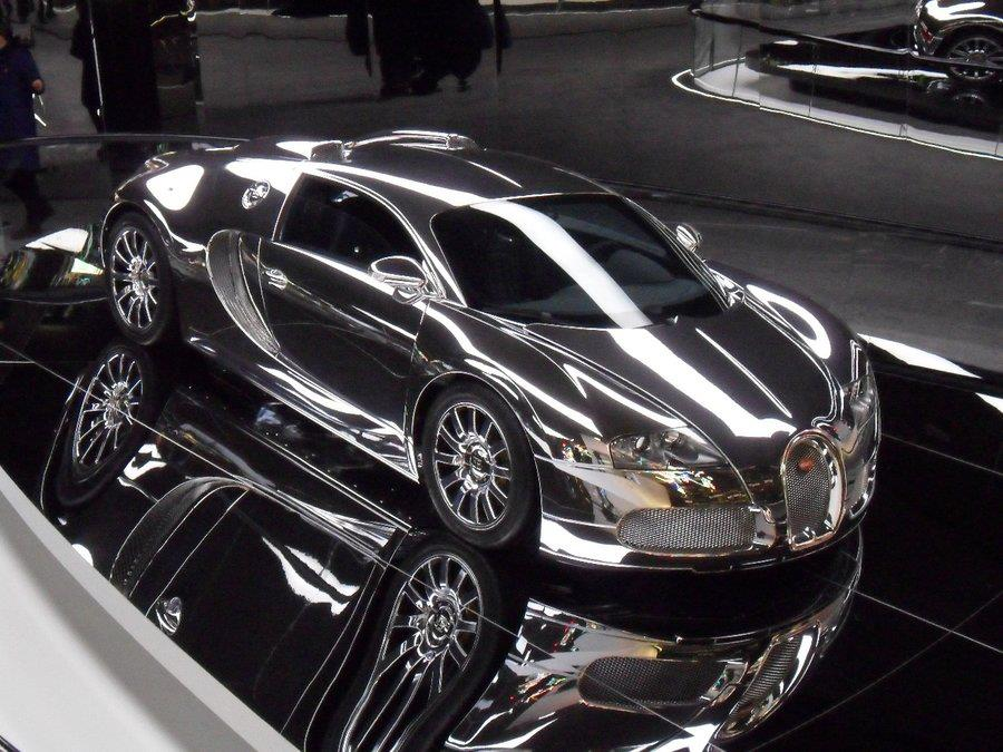 Car & Bike Fanatics: Chrome Bugatti Bugatti 2014 Chrome