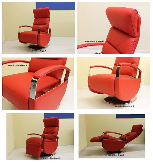 Tende materassi letti poltrone divani zilvetti tendaggi for Poltrona girevole design