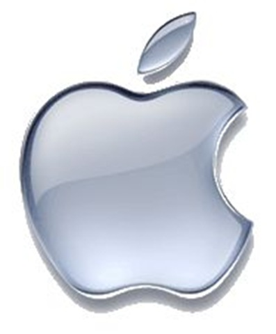 Apple Computer's logo,its