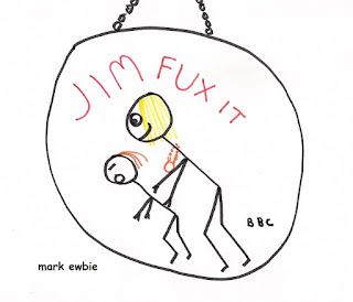 cartoon jim'll fix it badge