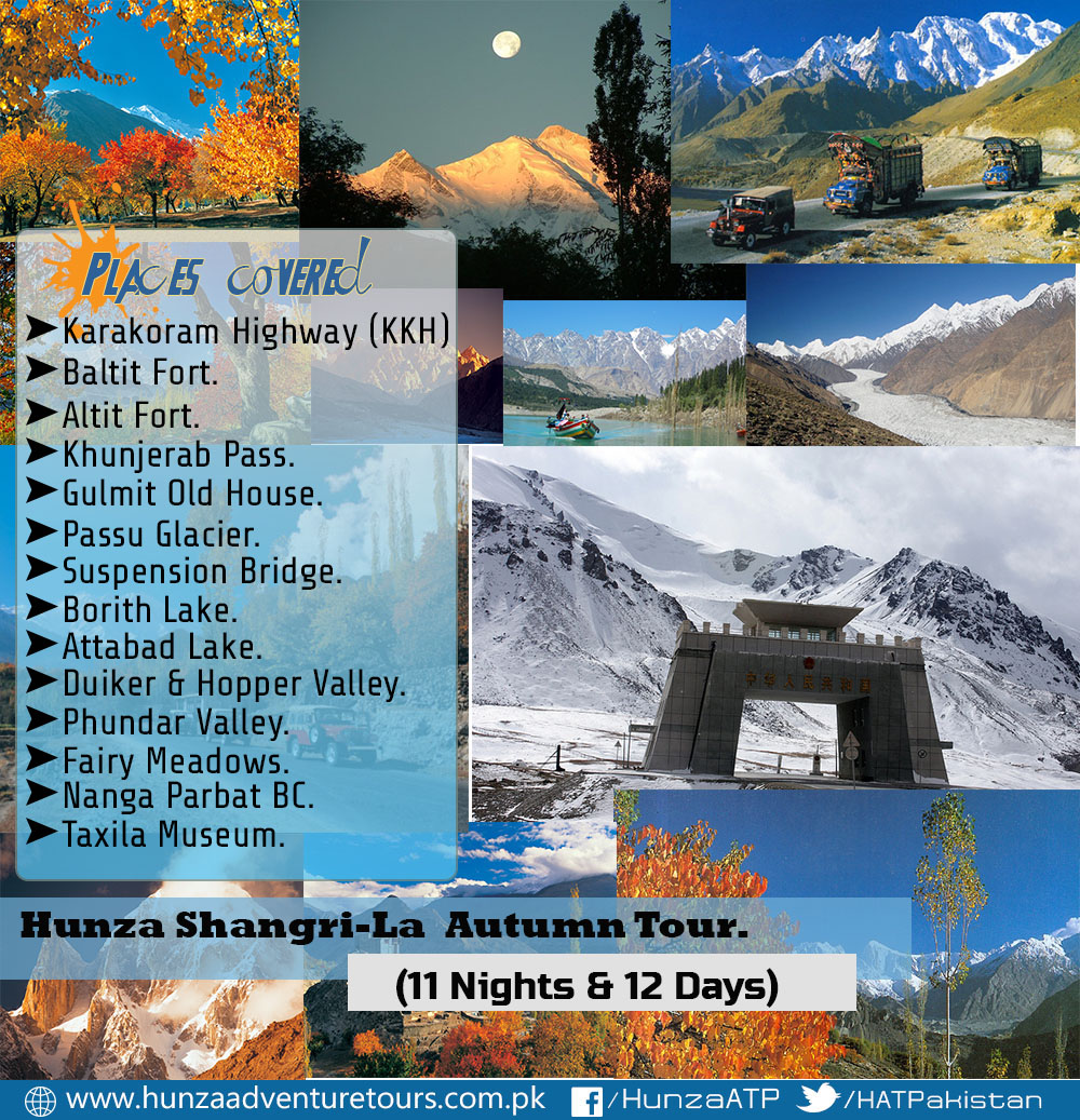 Ancient Silk Route & Hunza Shangri-La Autumn Tour 2016