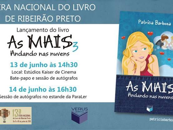 Patrícia Barboza e As MAIS na Feira Nacional do Livro de Ribeirão Preto, Verus Editora (Grupo Editorial Record)