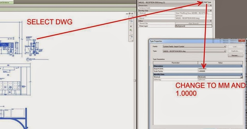 how to change blocks scale factor in autocad
