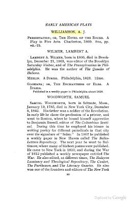 Lambert A. Wilmer and Edgar Allan Poe