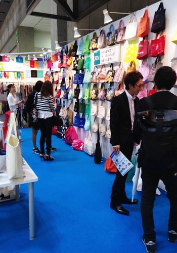 ファッション雑貨EXPO 展示風景