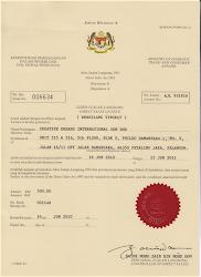 LESEN AJL - MALAYSIA