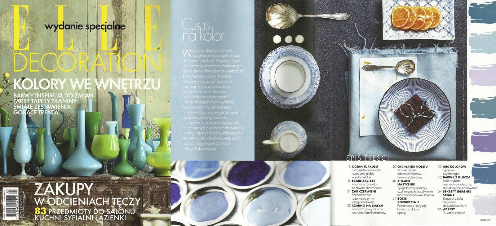 Rebecca Newport Elle Decoration Magazine Feature Time