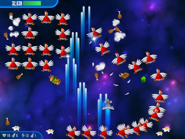 Exe Games Chicken Invaders 1 Game