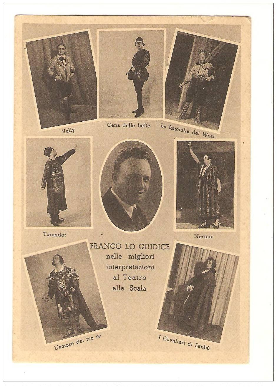 ITALIAN TENOR FRANCO LO GIUDICE (1893 - 1990) CD