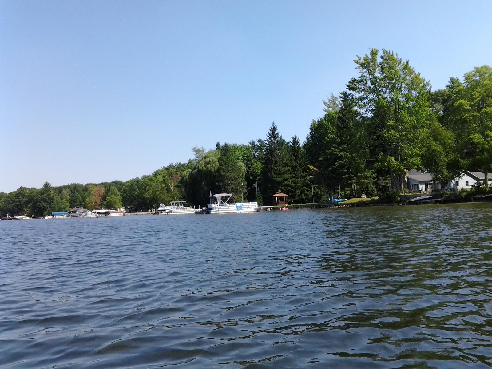 Kayaking Michigan Rivers Wolf Lake Aug 25 2012