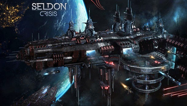 Viaje livremente pela galáxia em Seldon Crisis