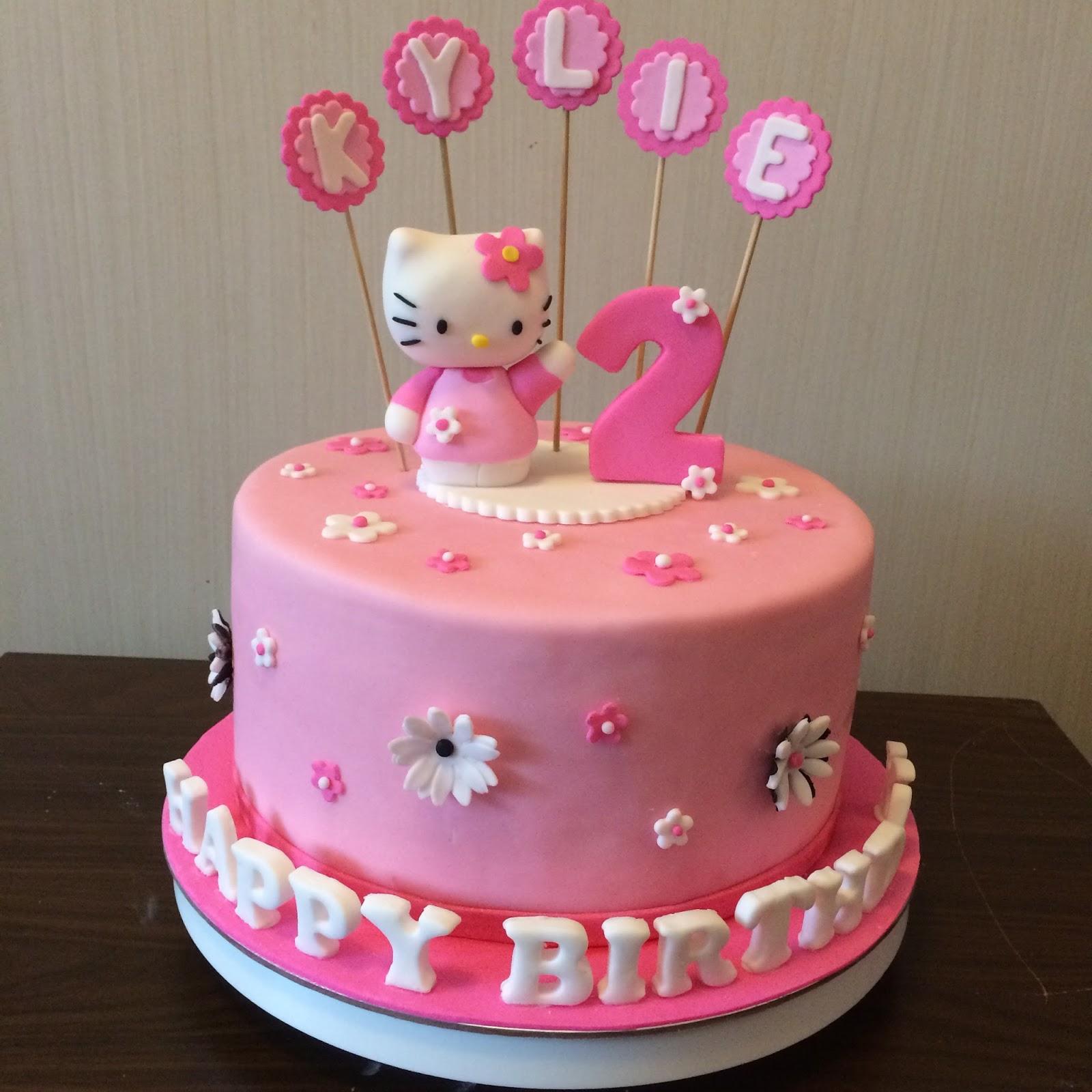 Cake Hello Kitty Pink : Pink Hello Kitty Cake Crissa s Cake Corner!