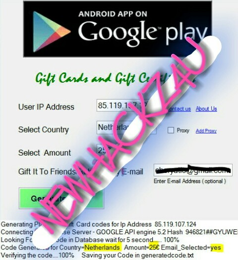 How To Hack Google Play Store Gift Card Google play gift card
