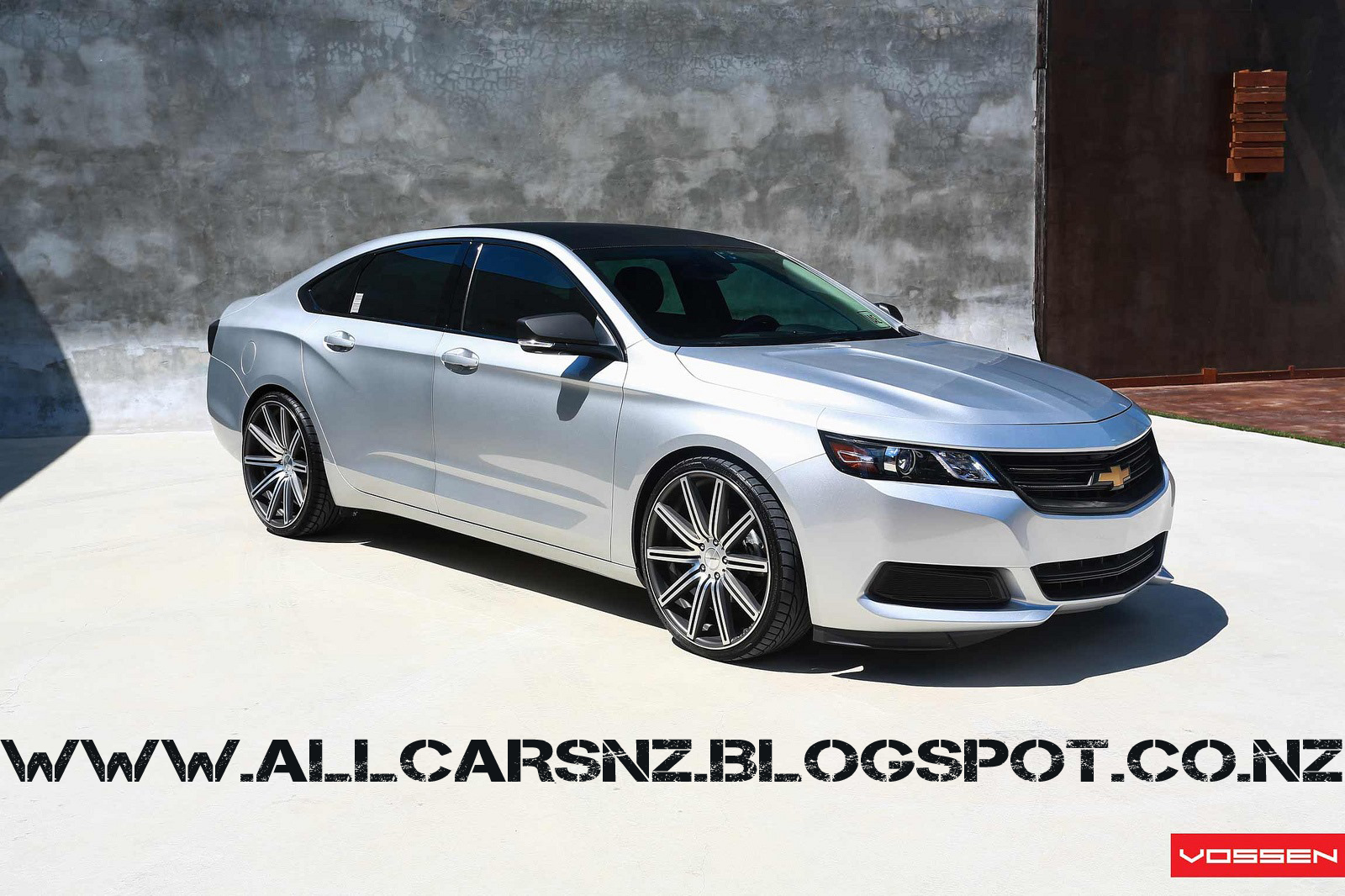 all tuning cars nz 2013 chevrolet impala by vossen. Black Bedroom Furniture Sets. Home Design Ideas