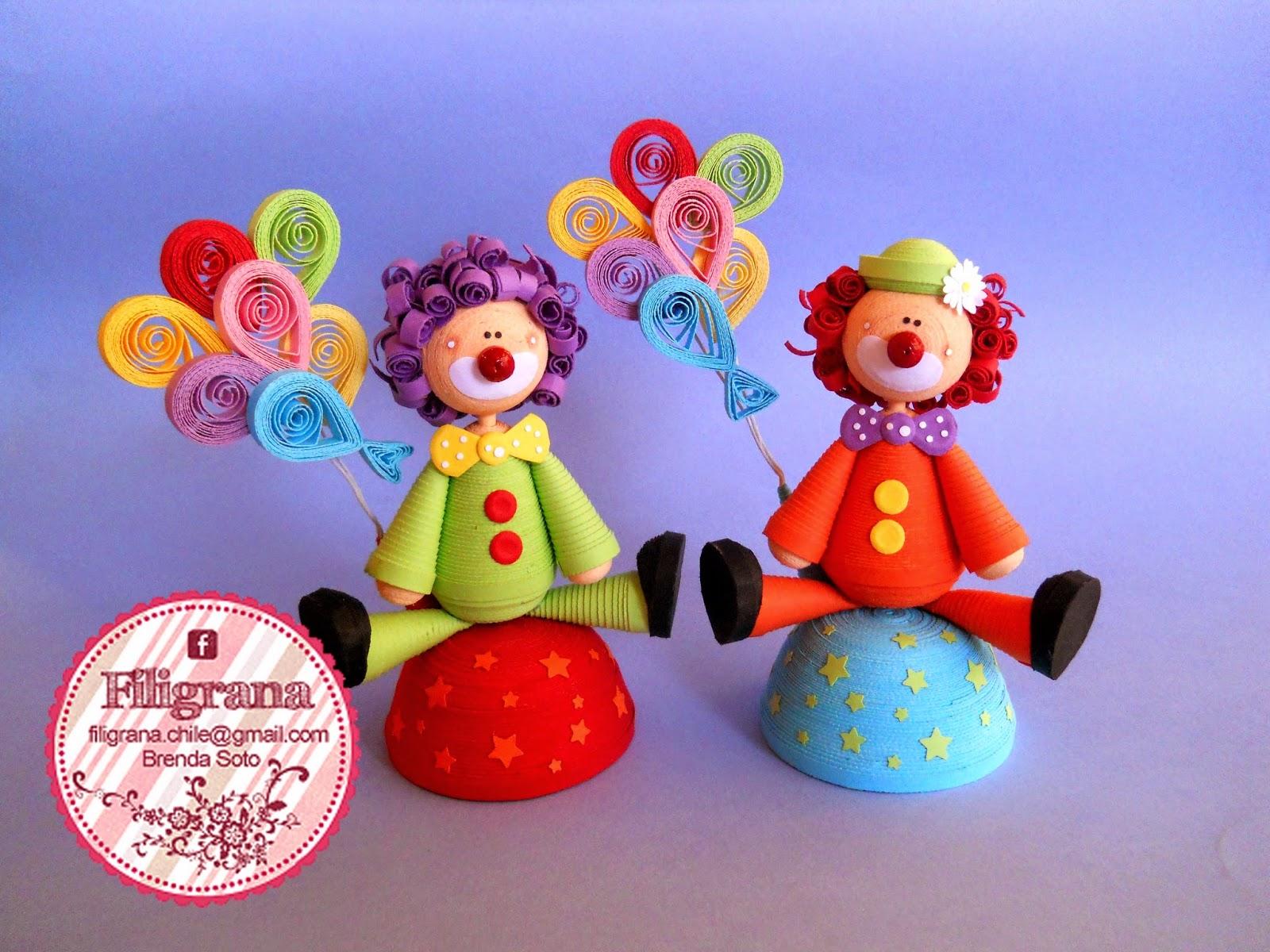 Объемные игрушки из квиллинга своими руками