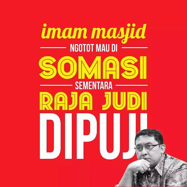 Imam Masjid Ngotot Mau Disomasi, Raja Judi Dipuji-islamoderat.com