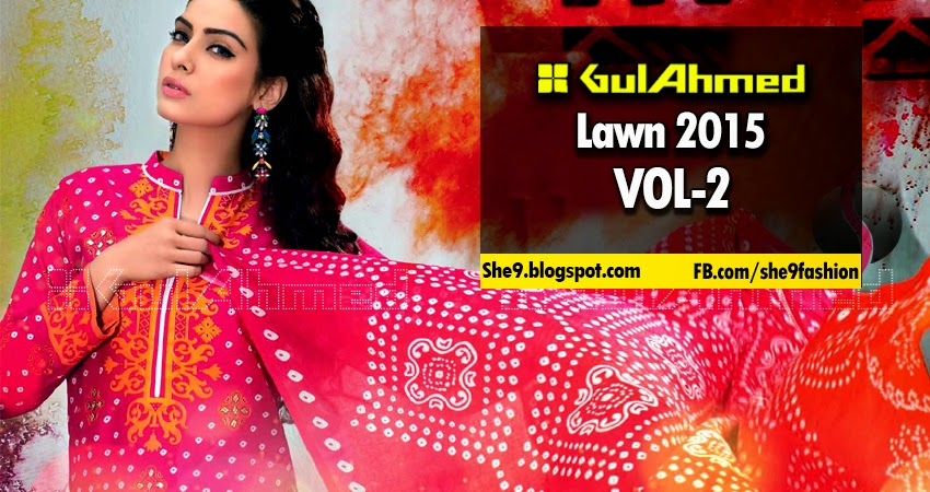 Gul Ahmed Summer Collection 2015 Volume-3 Magazine
