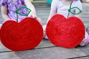 YARN APPLE RECYCLABLE CRAFT