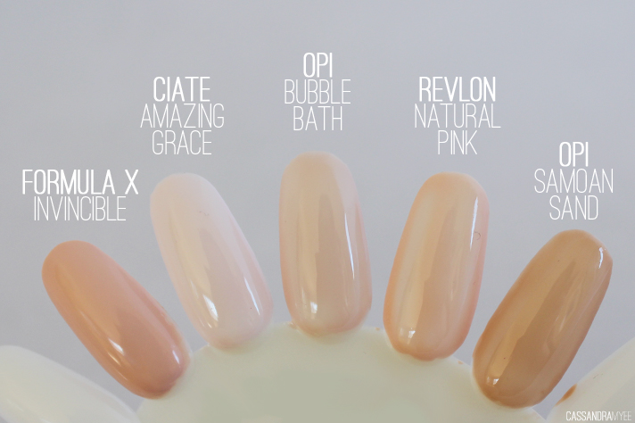 THE NUDE NAIL ROUND UP - CassandraMyee