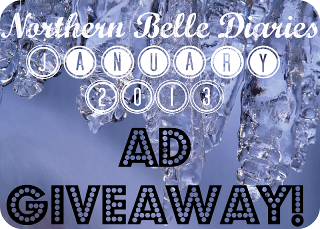 Northern Belle Diaries Jan 2013 giveaway
