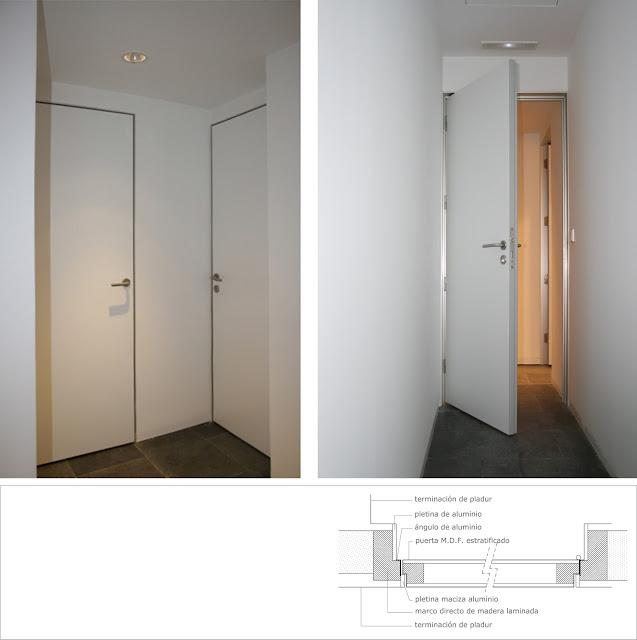 Puertas de madera invisibles|Espacios en madera