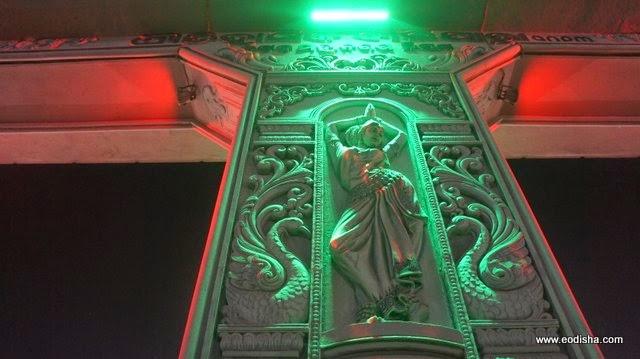 The Design Lighting at the Baliyatra Gate Cuttack