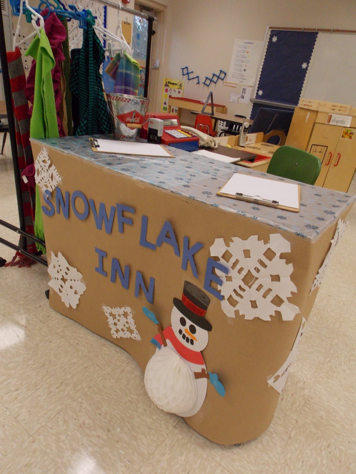 Cozy Kindergarten Winter Wonderland