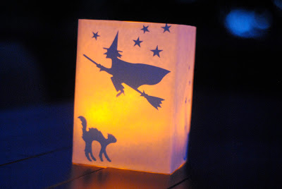 DIY Halloween Luminaries for Cheap Halloween Decor (guest post by Making Lemonade)