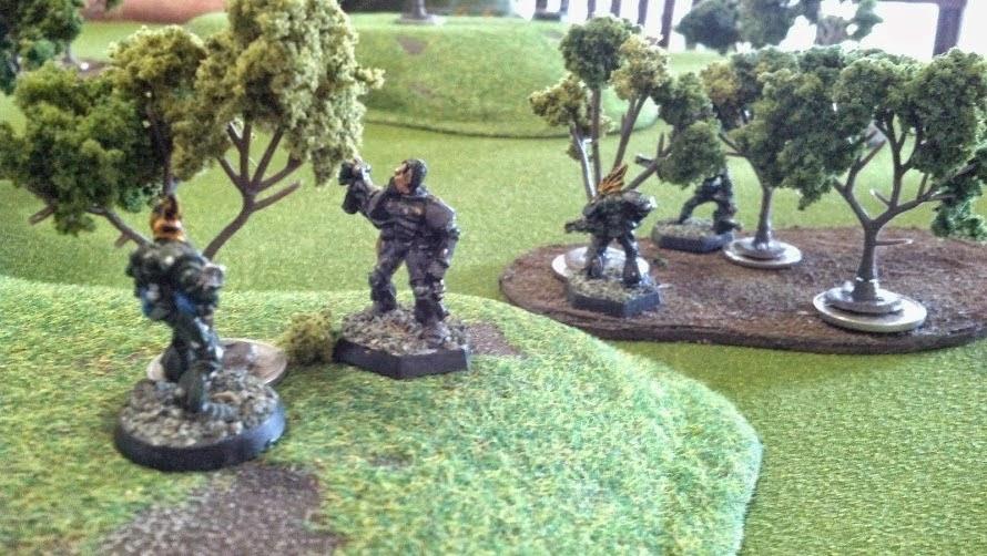6 iron spikes: Rogue Trader - The last hurrah - Marines v ...