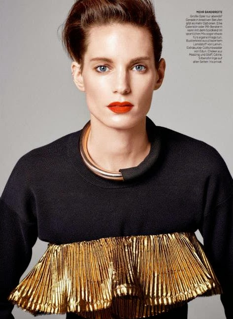 Iris Strubegger HQ Pictures Harper's Bazaar Germany Magazine Photoshoot March 2014 By Kacper Kasprzyk