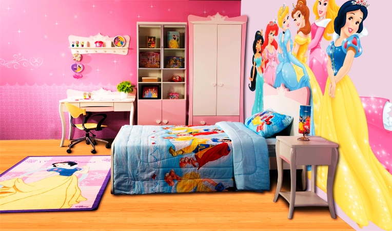 Girls 39 disney princess bedroom furniture furniture for Disney princess bedroom ideas