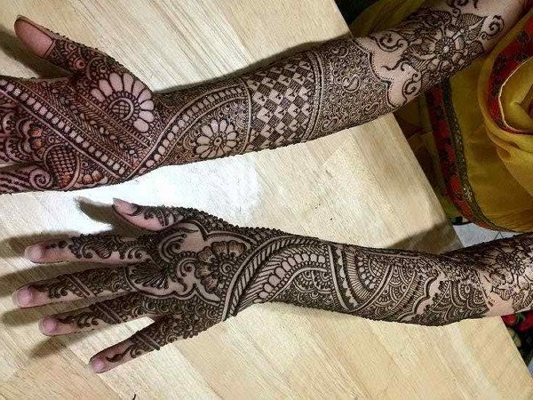 Modern Arabic Mehndi Designs 2014 : Bridal mehndi designs arabic for hands