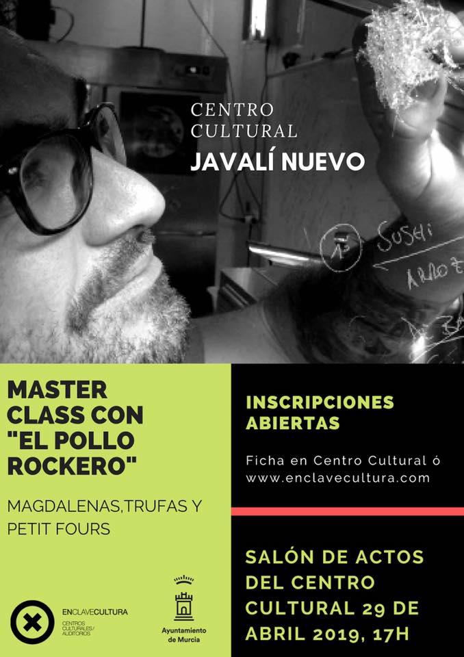 Master Class con El Pollo Rockero.