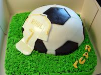 Tarta fondant_Futbol Raul