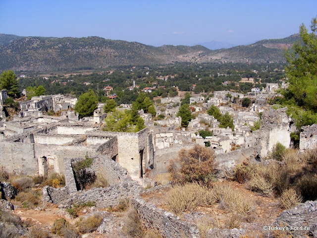 Looking Back Over The Ruins of Kayaköy