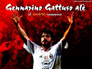 Gennaro Gattuso Ac Milan Wallpaper 2011 6