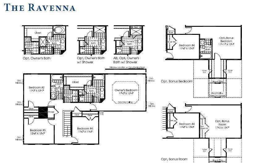 Ryan homes ravenna floor plan house design plans for Ryan home plans
