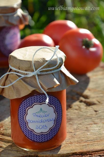 Przecier pomidorowy (Przecier z pomidorów)