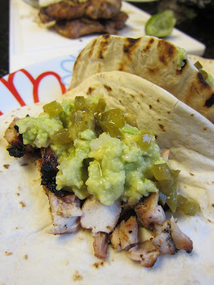 Beer Marinated Chicken Tacos