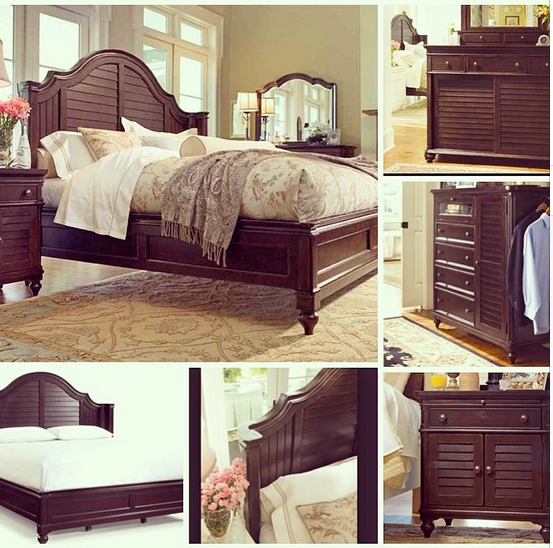 we chose the paula deen steel magnolia collection and love it - Paula Deen Bedroom Furniture