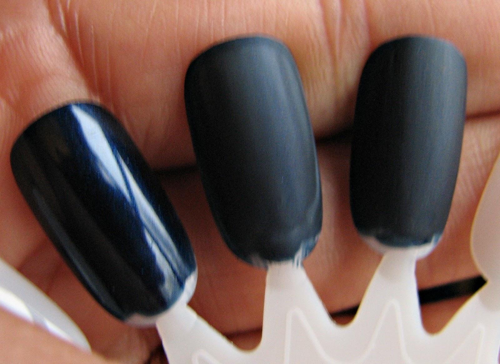 Mangling my Manicure: Matte mani without matte polish