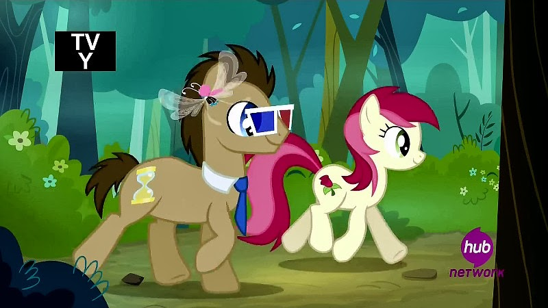 Doctor Whooves and Roseluck