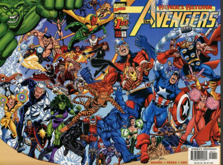 COLECCIÓN DEFINITIVA: VENGADORES [UL] [cbr] Avengers+3