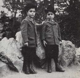Les frères Martel enfants
