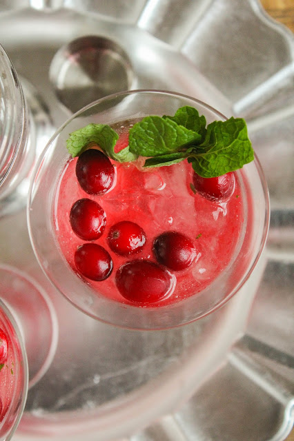 Cranberry Mojito | The Chef Next Door