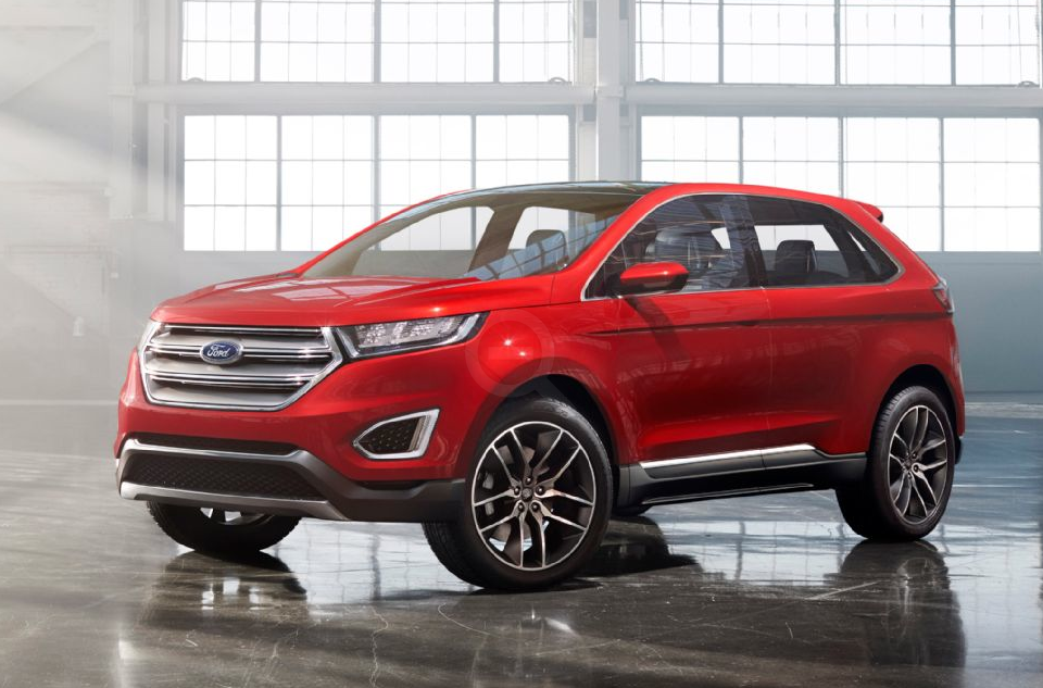 Ford Edge Concept is Revealed with Advanced Driving Technologies