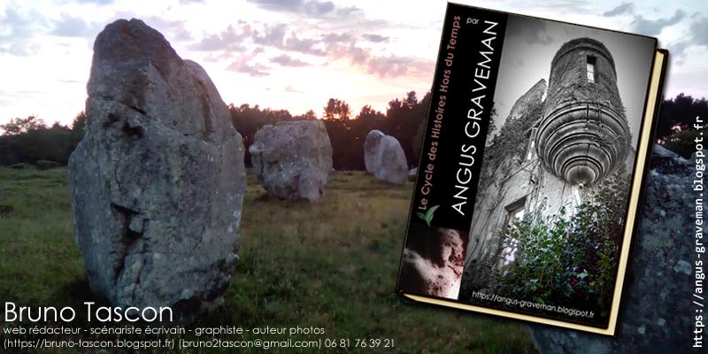 Angus Graveman, Nom de plume de Bruno TASCON auteur [Science Fiction SFFF] VANNES LORIENT MORBIHAN