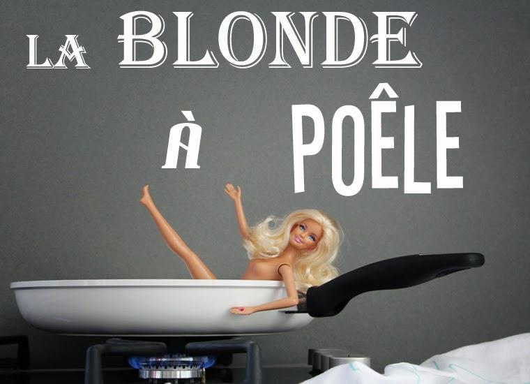 La blonde à poêle