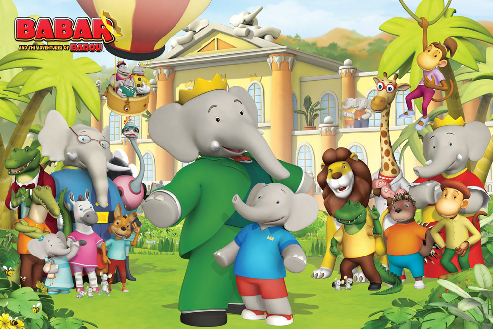 Babar and the Adventures of Badou 3D Animated Series