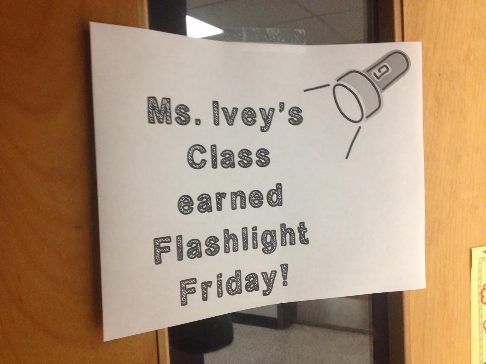 Classroom Motivation Ideas : Sparking student motivation flashlight friday ideas by